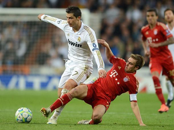Critiano Ronaldo, Philipp Lahm