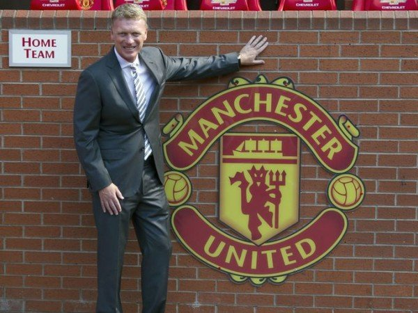 David Moyes at Manchester United