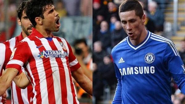 Diego Costa, Fernando Torres