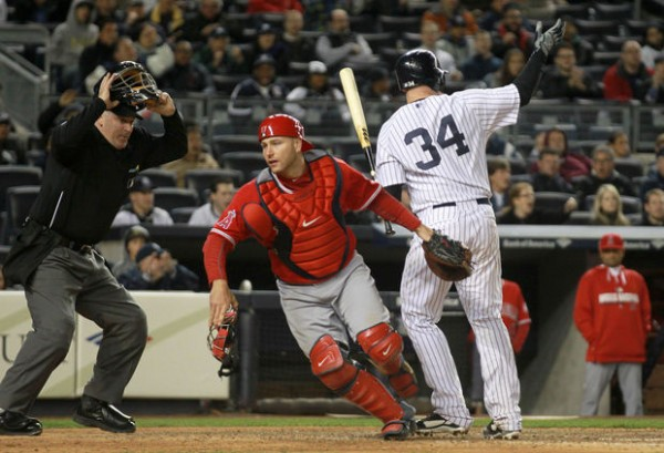 9261625ea5468 A team can get only three hits in a game and still win. The New York  Yankees beat the Los Angeles Angels behind another strong pitching  performance from ...