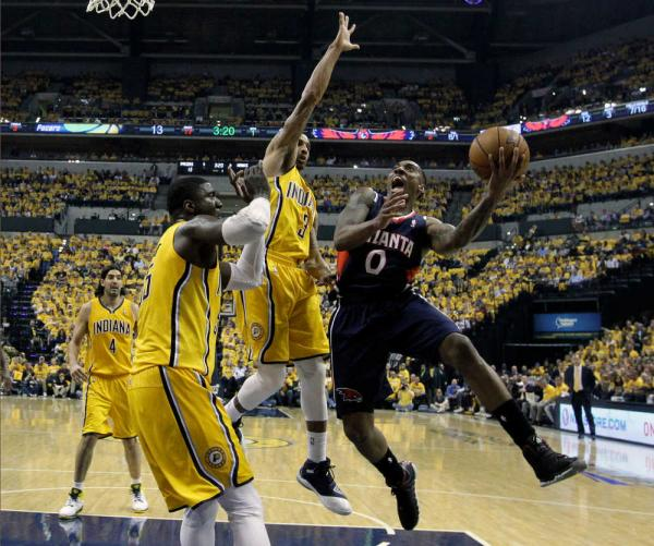 Hawks beat Pacers