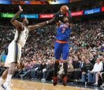 Knicks beat Jazz