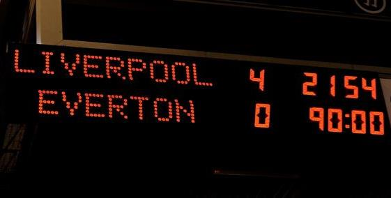 Liverpool Everton 4-0