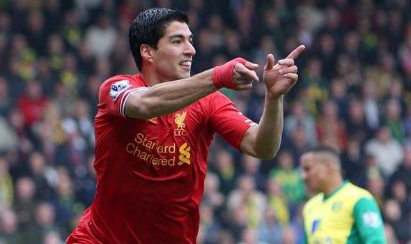 Luis Suarez Goal