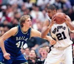 Old School Duncan & Nowitzki
