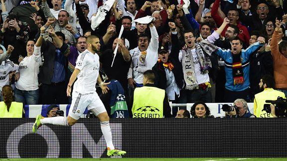 Real Madrid beat Bayern Munich
