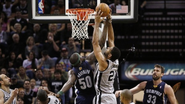 Spurs beat Grizzlies
