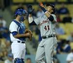 Tigers beat Dodgers
