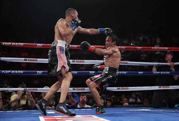Alvarado Knocks Down Marquez