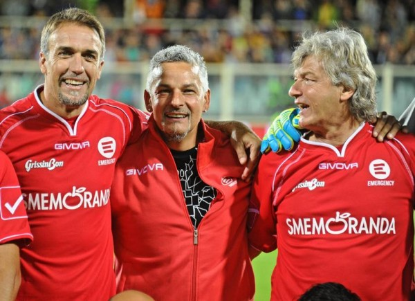 Batistuta, Baggio