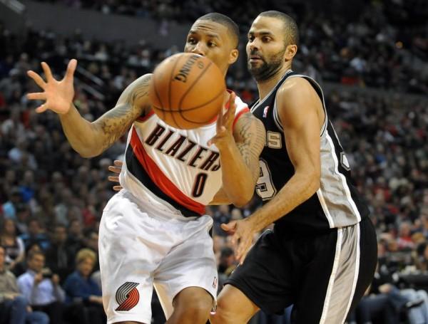 Blazers vs Spurs