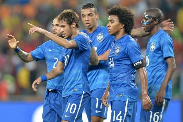 Brazil beat South Africa 5-0
