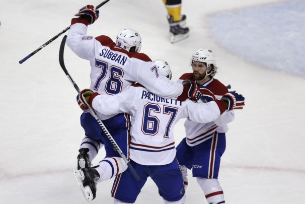 Canadiens beat Bruins