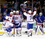 Canadiens beat Rangers