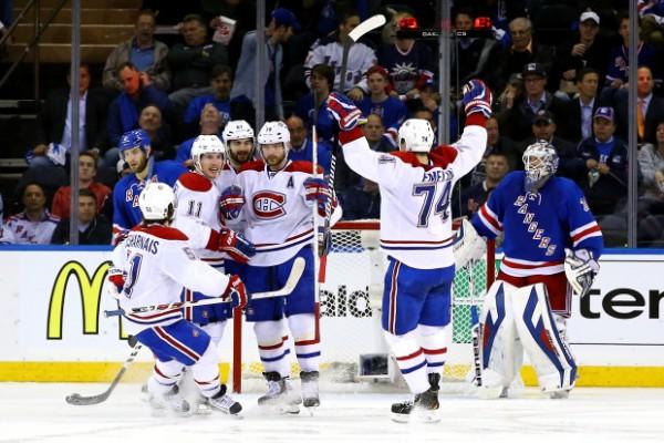 Canadiens beat Rangers