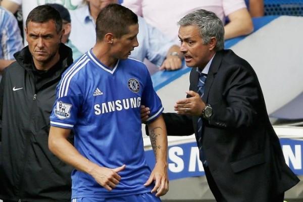 Fernando Torres, Jose Mourinho