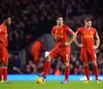 Gerrard, Sturridge, Suarez