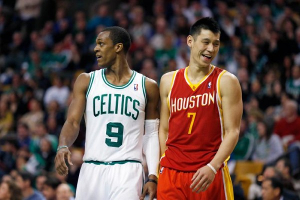 Jeremy Lin, Rajon Rondo