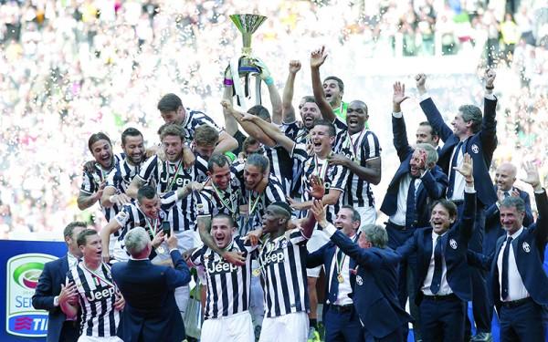 Juventus, Italian champions
