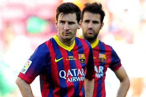 Lionel Messi, Cesc Fabregas