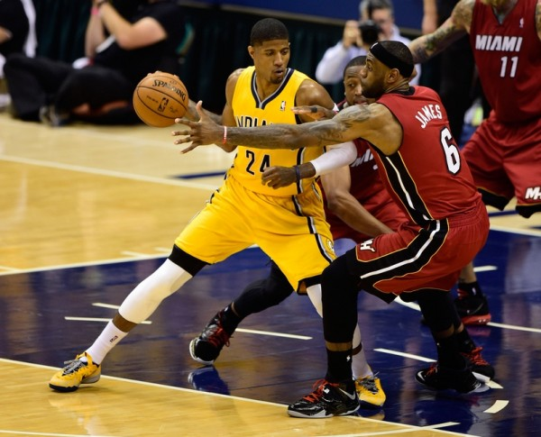 Paul George vs Miami Heat