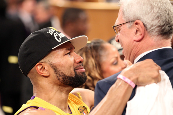 Phil Jackson, Derek Fisher