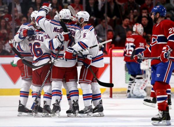 Rangers beat Canadiens