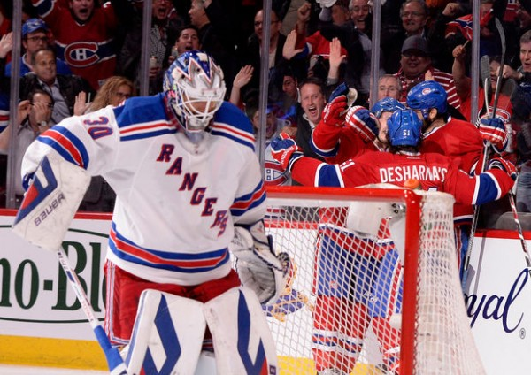 Rangers lose to Canadiens