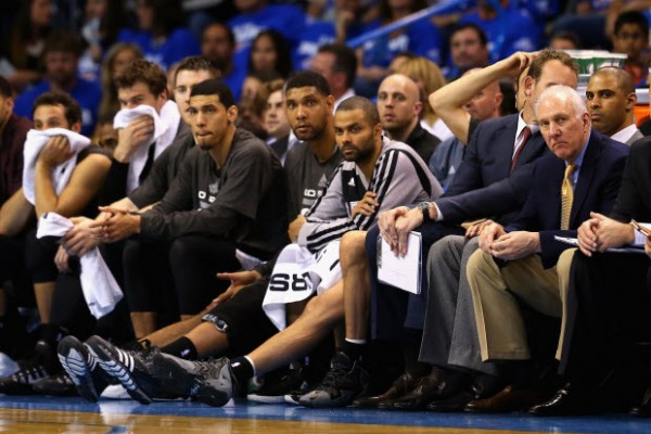 Spurs lose to Thunder