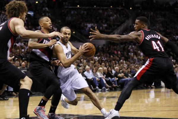 Spurs vs Blazers