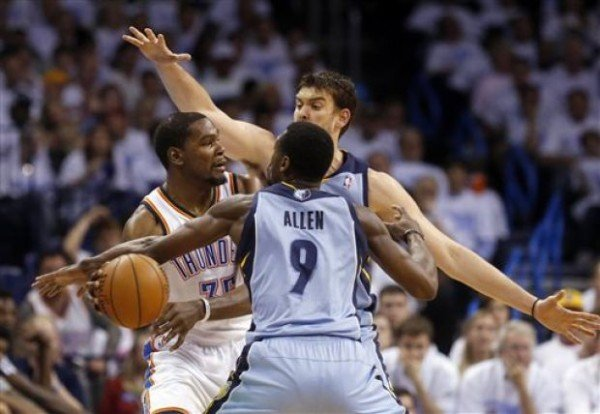 Thunder vs Grizzlies