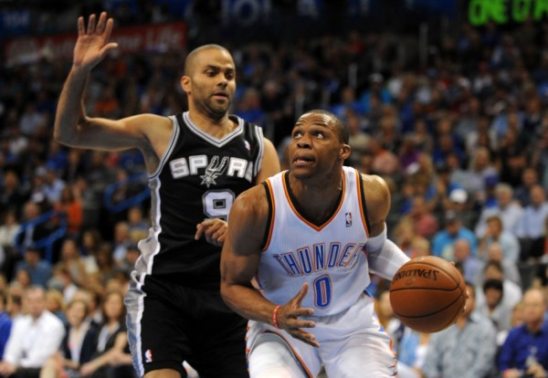 Tony Parker, Russell Westbrook