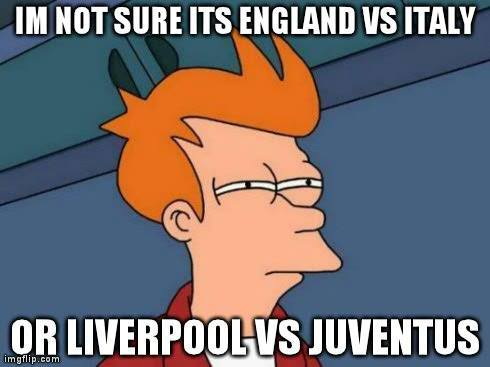 England, Italy, Liverpool, Juventus