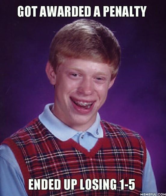 Bad luck Spain