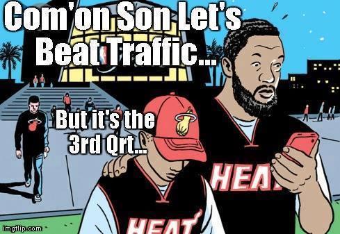 Beating Traffic