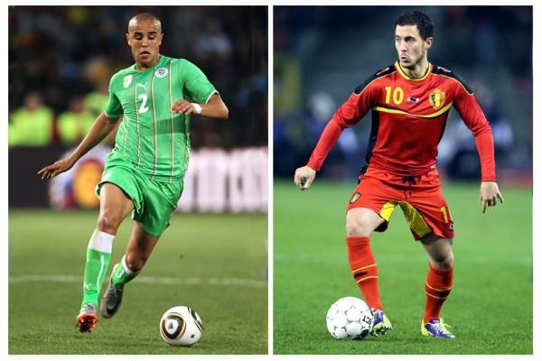 Beglium vs Algeria