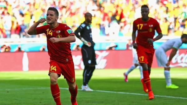 Belgium beating Algeria