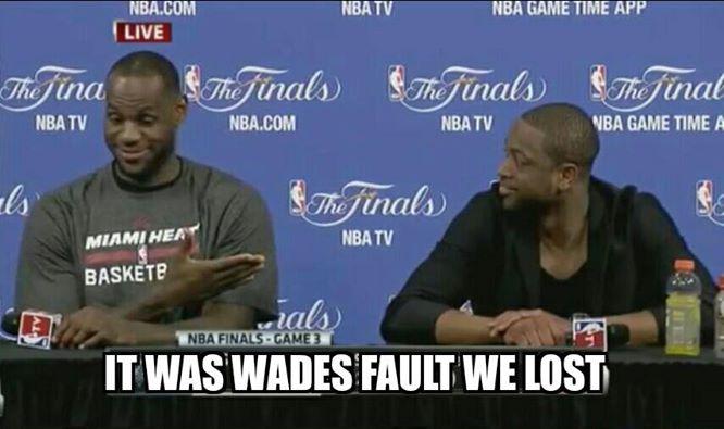 Blaming Wade