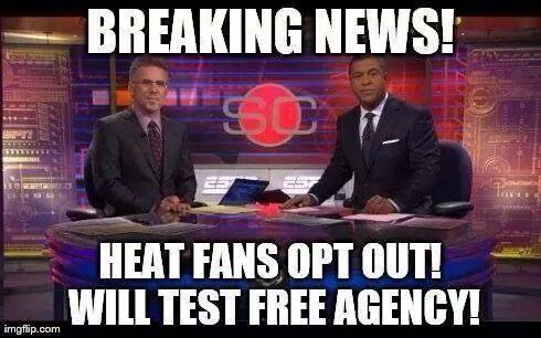 Breaking News 31 Best Memes of LeBron James Maybe Leaving the Miami Heat