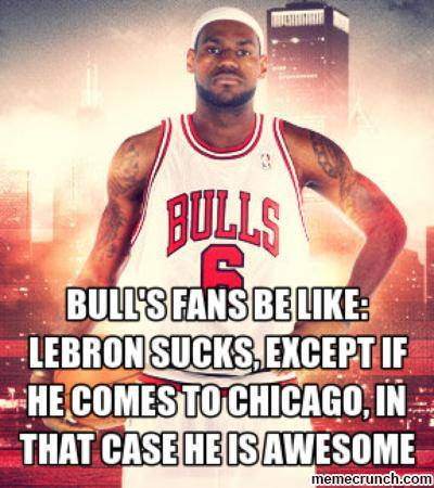 Bulls Fans 31 Best Memes of LeBron James Maybe Leaving the Miami Heat