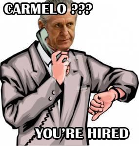 Calling Carmelo