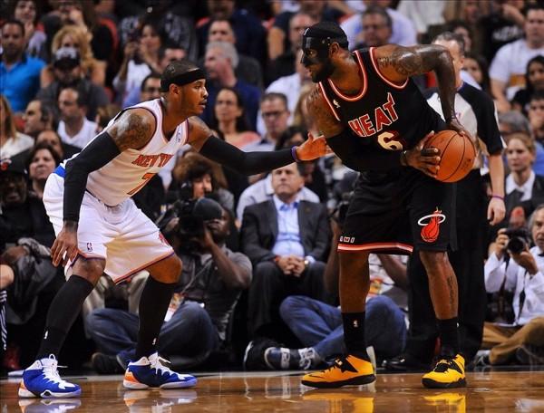 Carmelo vs The Mask