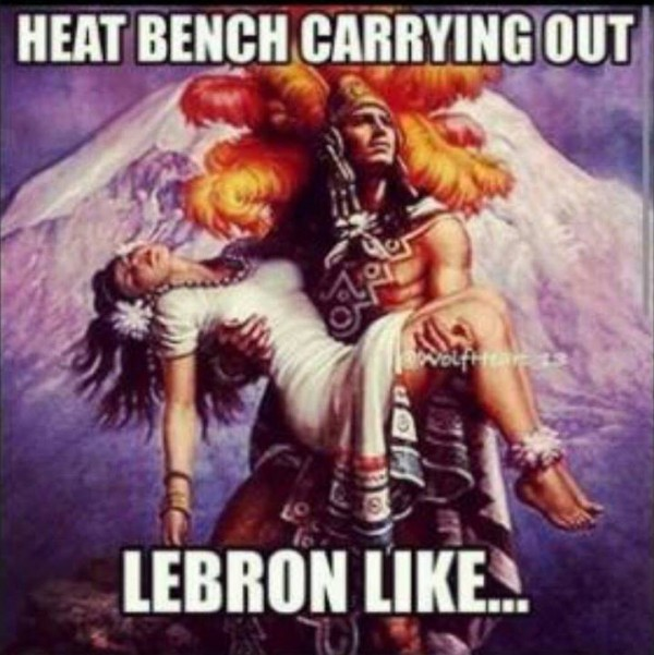 Carrying LeBron