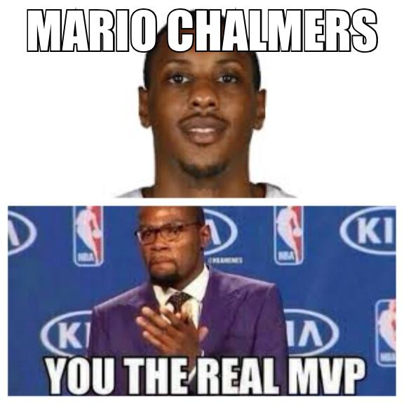 Chalmers the real MVP