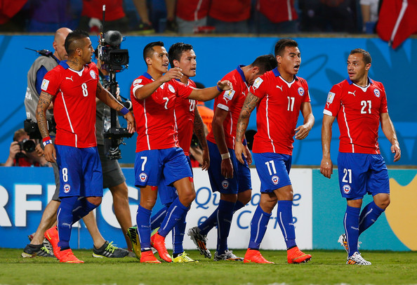Chile beat Australia