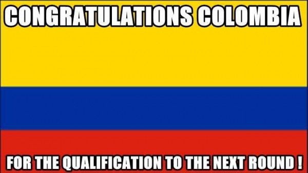 Colombia's first