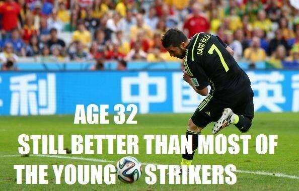 David Villa better