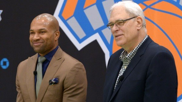 Derek Fisher, Phil Jackson