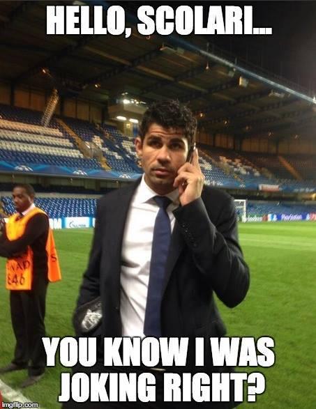 Diego Costa Calling