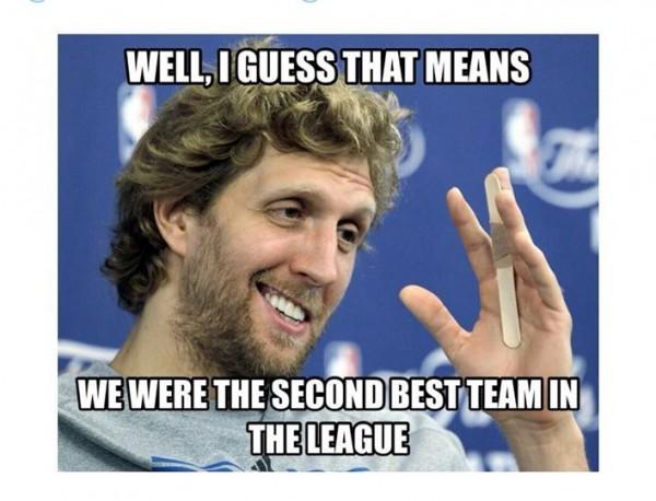 Dirk is pleased